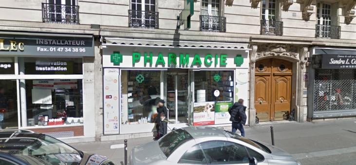 Pharmacie Volontaires, Paris