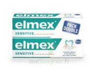 ELMEX SENSITIVE DENTIFRICE, tube 75 ml, pack 2 à Paris